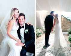 See Lauren Conrad's Wedding Dress + More Pics from Her I Dos via Brit + Co.