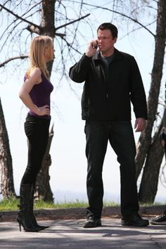 Still of Adam Baldwin and Yvonne Strahovski in Chuck