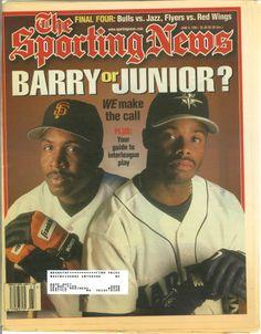 Ken Griffey Jr., Sporting News (June 1997) #Mariners