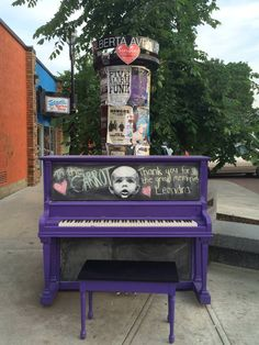 Pubic art piano outside The Carrot. Pinball, The Outsiders, Abs, My Love, Carrot, Canada, Street, Pianos, 6 Pack Abs