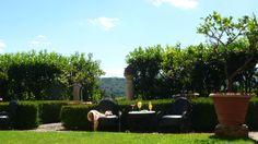 A drink in the Lemon Garden - Relais La Suvera, Tuscany