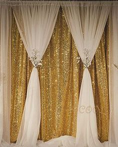 Discounted B-COOL Sequin Backdrop Gold 4ft x 6.5ft Sequin Photography Backdrop Wedding Photo Booth Backdrop Photography Background for Wedding/Party/Photography/Curtain/Birthday/Christmas/Prom/Other Event Decor #4ftx6.5ft #793842046434 #798837778970 #798837778970 #B-COOL #B-COOL #B-COOL #B-COOL #B-COOL #BCGOLD4X6.5 #BCGOLD4X6.5 #Gold #Kitchen #LightingandStudio #Photography Wedding Reception Backdrop, Wedding Photo Booth, Wedding Centerpieces, Wedding Decorations, Wedding Backdrops, Reception Ideas, Curtain Backdrop Wedding, Ceremony Backdrop, Quinceanera Decorations