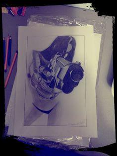 Girl & gun