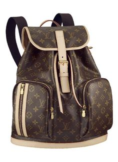 louis vuitton backpack | ... straps, this Louis Vuitton backpack is the perfect city companion