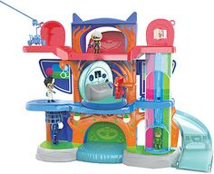 Video Review for Disney Junior 3 inch PJ Masks Headquarter Playset showcasing product features and benefits