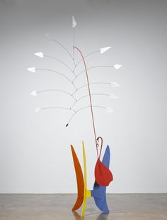 "Alexander Calder - The Great Yucca  sheet metal, wire, lead, and paint; 8' 6"" x 4' 2"" x 2' (259.1 cm x 127 cm x 61 cm); ; © 1941 Calder Foundation, New York /Artists Rights Society (ARS), New York / Photo by: G. R. Christmas, courtesy Pace Gallery"