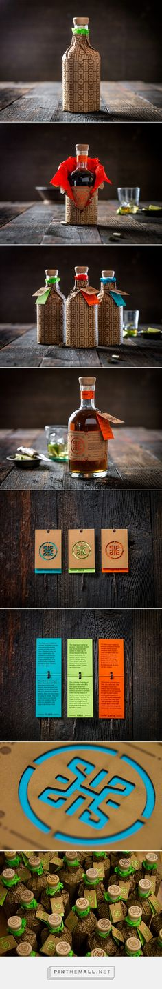 Hook Or Crook Tequila packaging via Package Design Inspiration by Josh Jevons curated by Packaging Diva PD.