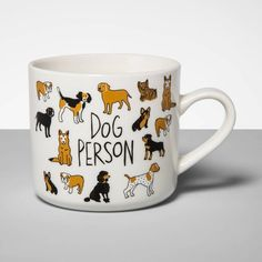 Stoneware Dog Person Mug Cream - Opalhouse™ : Target Toilet Brushes And Holders, Moose Mug, Drink Dispenser, Stoneware Mugs, Coffee Humor, Funny Coffee, Jar Storage, Mug Cup, Tea Set