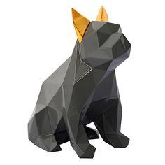TOV Furniture Man's Best Friend Sculpture - Grey and