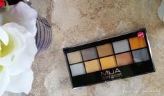 Going For Gold - MUA Makeup Academy Professional Eye Shadow Palette - Honeygirl's World