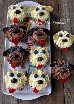 Hund- Cupcakes