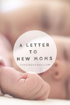 A Letter To New Moms An open letter to new & expecting mothers, offering experience, advice and inspiration. Read more here: