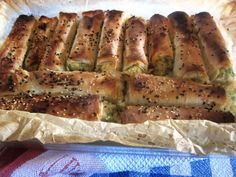 A Seasonal Cook in Turkey: Courgette Borek with Potato, Cheese and Fresh Herbs/ Kabaklı Börek