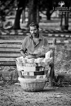 Popcorn Seller, India