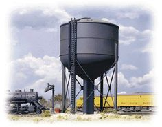 Walthers HO 933-3043 Steel Water Tower Kit