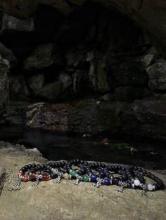 7 #CHAKRAS Bracelet Set: Onyx, Red Jasper, Carnelian, Citrine, Blue Aventurine, Lapis Lazuli, Amethyst, Clear Quartz  ❤️  A personal favorite from my Etsy shop https://www.etsy.com/listing/281103432/set-of-7-chakras-bracelet-set-onyx-red