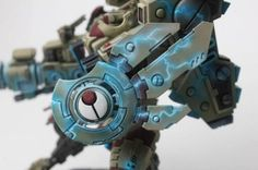 Brush 4 Hire Tau Riptide - Forum - DakkaDakka | An army with 2 wounds has a lot going for it.