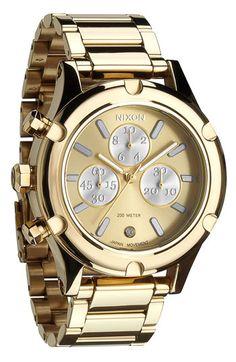 Nixon 'The Camden Chrono' Bracelet Watch | Nordstrom