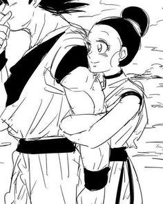 Goku and chichi ♡^^