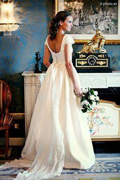 Vestido de novia de Lorenzo Caprile. Foto: d-photo.es