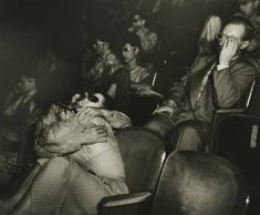 Weegee - Lovers at the Palace Theatre, - Howard Greenberg Gallery Weegee Photography, History Of Photography, Street Photography, Photography Names, Fotografia Tutorial, William Klein, Eugene Atget, Edward Steichen, Berenice Abbott