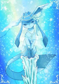 Glaceon *-* shared by BereMiau on We Heart It - Pokemon Ninetales Pokemon, Pokemon Eevee Evolutions, O Pokemon, Pokemon Fan Art, Pokemon Cards, Cute Animal Drawings, Kawaii Drawings, Cute Drawings, Cute Pokemon Pictures