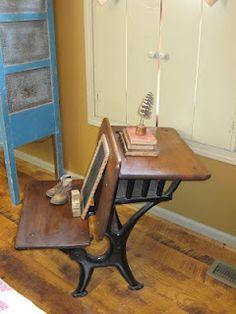 Old Wooden Desk For Sale
