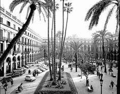 La Barcelona d'Oriol Maspons: la plaça Reial