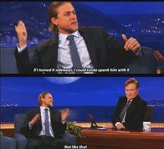 Charlie Hunnman on Conan
