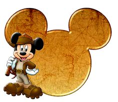 Indiana Jones Mickey