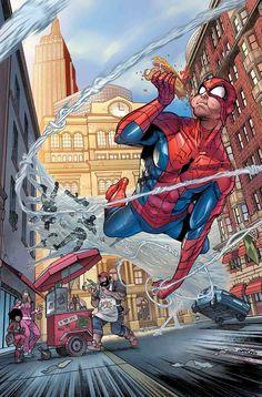 Peter Parker Spectacular Spider-man Annual Marvel Allred Zdarsky 62018 for sale online Marvel Vs, Marvel Comics Art, Marvel Comic Universe, Marvel Heroes, Amazing Spiderman, Spiderman Art, Comics Anime, Univers Dc, Univers Marvel
