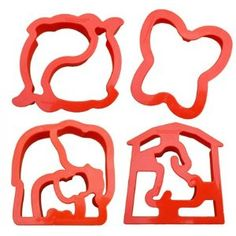 Lunch Punch critter sandwich cutters $15 (also comes in transport and puzzle shapes)