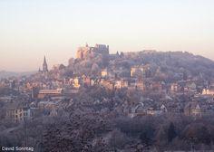 Morgensonne in Marburg
