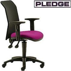 Pledge Air Mesh Back Custom Task Chair  www.officefurnitureonline.co.uk