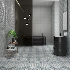 Check out our beautiful Tango 23 1/3 x 23 1/3 Patterned Tile in Pampa. The Tango Patterned Tile is a glazed porcelain tile inspired by encaustic tiles developed over ten centuries ago and retails at $6.99 SQ FT.