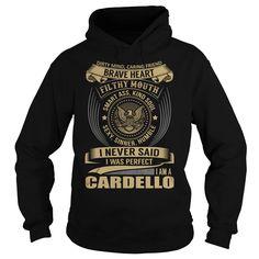 (Cool Produce) CARDELLO Last Name Surname T-Shirt Teeshirt Online Hoodies, Funny Tee Shirts