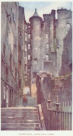 Edinburgh by Scottish illustrator Jessie Marion King