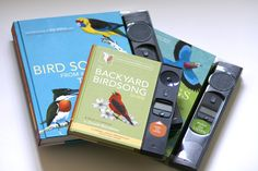Electronic bird song books