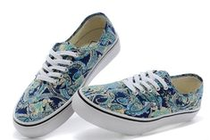 3196d4169ffe9a Liberty Art Fabrics Vans Fall Collection Era Navy Retro Print Off the Wall  Sneakers  S14090602