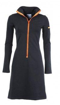 Sportieve stoere vrouwelijke retro jurk Zendee