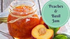 Peach basil jam brings together two favorite summer harvests to form a unique combined flavor that somehow just works. It's even beautiful to look at, and livens up a sometimes-boring PB&…