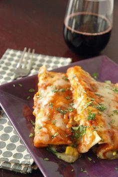 Vegtable Enchiladas