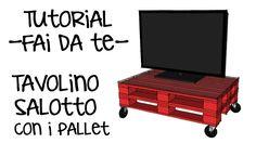 Tutorila fai da te pallet! Come costruire un tavolo con i bancali! https://www.youtube.com/watch?v=93vPuQUXku8 #Pallets #Wood #Furniture #Wooden #DIY #HomeDecor #Packaging #Manufacturing #Machines #ISO9001 #Ideas #Garden #Machine #Home #LivingRoom #Sofa #Decor #Design #Table #Corner
