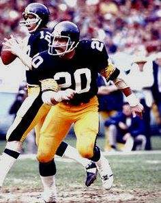 Rocky Bleier Football Went to 4 superbowls. Leg and foot was 40% disabled by a grenade while at war.