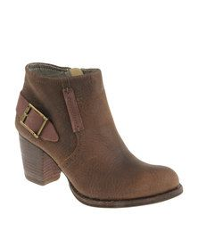 Caterpillar Anette Ankle Boot Brown