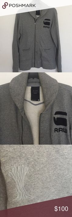 G Star Raw Men's Sweatshirt ⚓️ Look like a DJ with this amazing (LIKE NEW) sweatshirt. Size a bit smaller than M. Ideal for fit guys, not like me  Love it.. Like I did.  Afrojack and Pharrell 's Brand so it hasta lot of swag. I deal for Ultra, EDC, Raves, Tomorrowland and other music festivals. G-Star Sweaters Zip Up