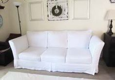 DIY Couch Cover Instructions.    I've been wanting to try this for like Ever!