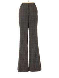 Ann Taylor LOFT Dress Pants: Size 0.00 Gray Women's Bottoms - $15.99