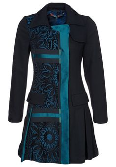 Desigual - ABRIG DREAMS - Classic coat - black.....I want this jacket so bad!!