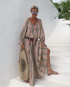 Discover the daily pre order and collections for the latest women's fashion and trends at Floryday. Women's Fashion Dresses, Boho Fashion, Fashion Looks, Bohemian Style, Boho Chic, Mode Ab 50, Mode Hippie, Latest Fashion For Women, Womens Fashion